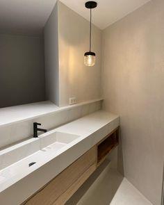 Bathroom Furniture Design, Bathroom Interior, Minimal House Design, Zen House, My First Apartment, Fancy Houses, Dream House Plans, Bathroom Inspiration, Small Bathroom
