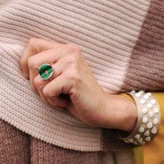 Gemstone Rings, Turquoise, Gemstones, Instagram Posts, Gems, Green Turquoise, Jewels, Minerals