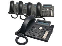 Snom 320 Black Corded VoIP Full Duplex SIP 12-Line Operation Phone ( 5 Pack ) #Snom