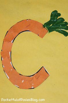Letter C Carrot