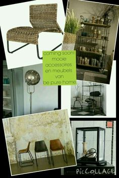 Mooie accessoires en meubels van be pure home