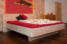 1980 EUR  bauereiss_zirbenbett_thorus Plywood, Modern, Base, Furniture, Home Decor, Beds, Bedroom, Projects, Homes