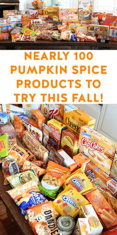 Nearly 100 pumpkin spice products to try this fall!