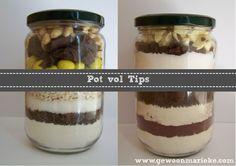 Tips voor het maken van een Pot vol Koekjes en een Pot vol Brownies