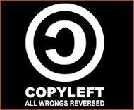 """Copyright 2.0 (Copyleft et Creative Commons) [Le symbole du """"copyleft"""", par opposition au """"copyright"""" - © Radio France]"""