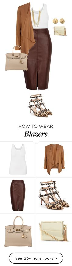 """plus size from work to play/look4"" by kristie-payne on Polyvore featuring maurices, River Island, Valentino, Hermès, CC SKYE and Rebecca Minkoff"