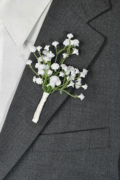 Wedding Flowers White ivory baby breath by Hollysflowershoppe