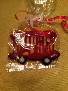 Trolley cookies Daniel tiger