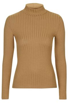 Photo 1 of Ribbed Funnel Neck Top
