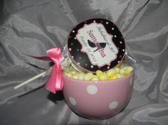 Front & Back Label Personalization on our fabulous Shoe Cookie Pops