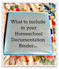 My Sweet Homeschool: What to include in your homeschool documentation binder