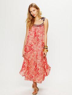 Free People Bandana Maxi Dress, $119.95