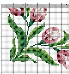 Hand embroidery, Pink and burgundy flowers, Add your text, E … – Flower İdeas Cross Stitch Art, Beaded Cross Stitch, Cross Stitch Borders, Cross Stitch Flowers, Cross Stitch Designs, Cross Stitch Embroidery, Embroidery Patterns, Hand Embroidery, Cross Stitch Patterns