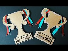 DIY Father's Day Card #Happyfathersday #fathersday #dad #superdad #greetingcard #love #DIY - YouTube Father's Day Greetings, Handmade Greetings, Greeting Cards Handmade, Easy Fathers Day Craft, Happy Fathers Day, Gifts For Father, Remembering Dad, Android Music, Father's Day Diy