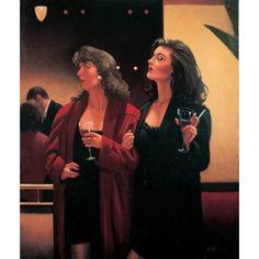 Jack Vettriano Girls' Night