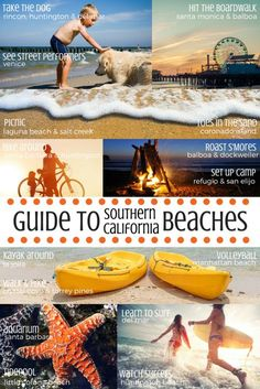 Discover the Best Family-Friendly Beaches in Southern California Traveling to Southern California? From San Diego in the south, through Orange County, & Los Angeles, up to Santa Barbara in the north, we share the best beaches for the family while visiting SoCal. #beaches #familytravel #trekarooing