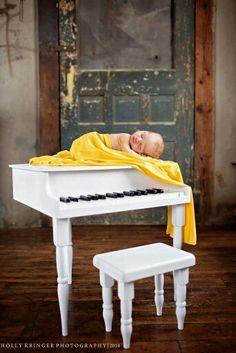 Since mommy is a pianist...