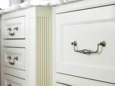 Kitchen Cabinets with Furniture-Style Flair | Traditional Home