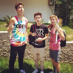 Nash carter and jack>>> I didn't know nash was that tall... I'm dying