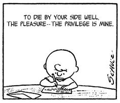 <b>Snoopy and Morrissey is a meeting of minds that somehow makes total sense.</b>