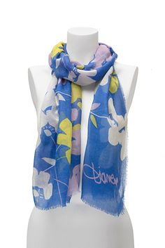 DVF | Add effortless chic to any look with a classic Cashmere scarf. http://on.dvf.com/1ap4HbS