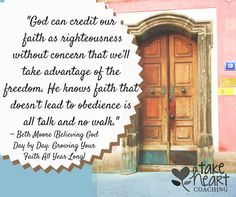 How is your walk and talk going? ~ Beth Moore quote