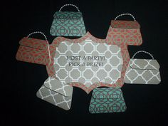 Initial Inc. Consultant Party Purses Set by AandCDesign on Etsy, $20.00