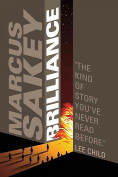 Brilliance, by Marcus Sakey; DYSTOPIAN FICTION/SCIENCE FICTION -- Elizabeth