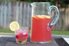 easy raspberry lemonade recipe {add vodka for an adult beverage}