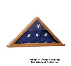 Flag Display Case Plans