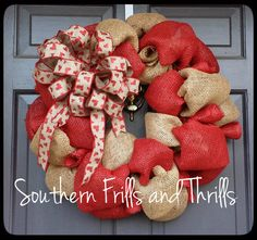 Valentine's Day Wreath Valentine's Wreath by SouthernThrills, $48.00