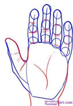 How to Draw Realistic Hands   How to Draw a Realistic Hand, Step by Step, Realistic, Drawing ...