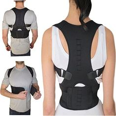 806d77c28eb9e Armstrong Amerika Thoracic Back Brace Magnetic Posture Support Corrector  for Back Neck Shoulder Upper Back Pain Relief Perfect Product for Cervical  Spine ...