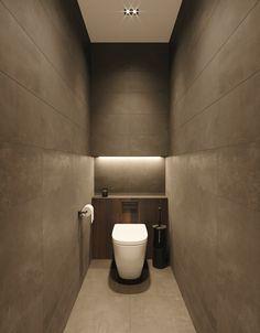 Washroom Design, Bathroom Design Luxury, Bathroom Design Small, Small Toilet Room, Guest Toilet, Wc Design, Toilet Design, Contemporary Interior Design, Interior Design Kitchen
