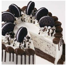 Oreo icecream cake