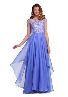 Fancode Women's Beaded Applique Prom Dress With Illusion Neck Fancode http://www.amazon.com/dp/B01CY1RMSA/ref=cm_sw_r_pi_dp_mGk7wb1C5RY5R