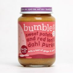 Bumbles™ Baby Food Range Sweet Potato and Red Lentil Dahl on bumbles.co.za Lentil Dahl, Lentils, Baby Food Recipes, Sweet Potato, Potatoes, Range, Eat, Healthy, Recipes For Baby Food