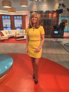 Kate garraway loverly legs and well filled top i love her to bits