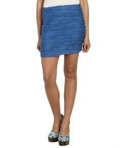 Textured Bodycon Skirt | Shop Bottoms at Wet Seal