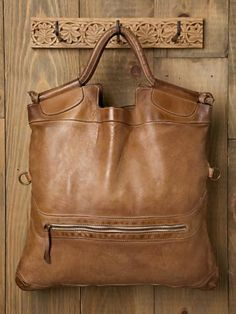 brown leather, love.