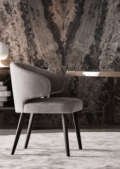 Smink Incorporated | Products | Chairs & Stools | Minotti | Aston Dining Chair