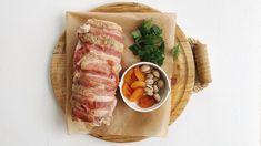 Stuffing til Kalkun — FAMILIEMAT Bacon, Pork, Meat, Kale Stir Fry, Beef, Pork Chops, Pork Belly