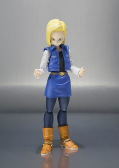 S.H. Figaurts 'Dragon Ball Z' Android 18 Action Figure Coming In June