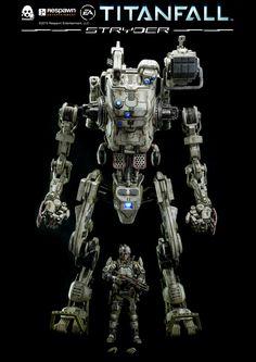 Titanfall figurine IMC Stryder ThreeZero