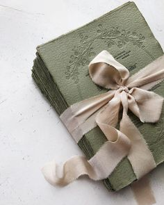 Green handmade paper wedding invitations with soft deckled edges and letterpress printing. 🌿 Wish you could feel the beautiful texture of this hand crafted paper. Beach Theme Wedding Invitations, Wedding Invitation Wording, Wedding Stationery, Event Invitations, Handmade Invitations, Wedding Paper, Wedding Cards, Diy Wedding, Geek Wedding