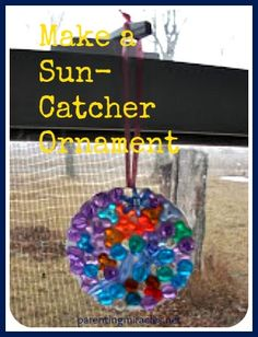 How to Make a Sun-Catcher Ornament With Your Preschooler or Kindergartener