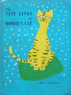 vintage childrens book 1961 Nine Lives of Homer Cat HTF look inside buddies Vintage Children's Books, Vintage Cat, Architecture Design, Roger Duvoisin, Book Of Kells, Book Illustration, Illustrations, Funny Tattoos, Chalk Pastels