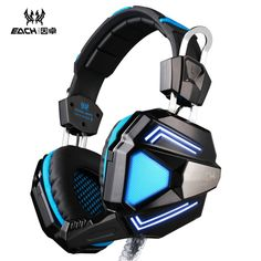 37.09$  Buy now - http://di7j4.justgood.pw/ali/go.php?t=32779380387 - EACH G5200 7.1 Stereo Bass Surround Game Headphone Computer Gaming Headset Headband Vibration with Microphone Colorful LED Light