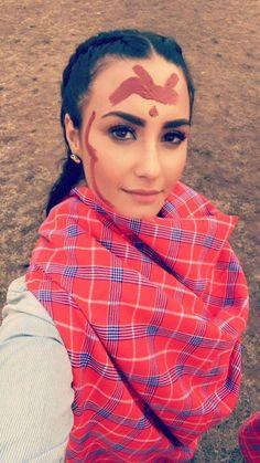 Demi Lovato en Kenia