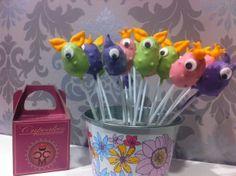 kindergeburstag cake pops monster :)